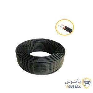 کابل کواکسیال ترکیبی گرید A حلقه 100 متری