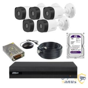 پکیج دوربین 8 کانال داهوا مدل 5B1A21P1TP